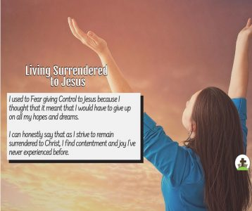 how to daily Surrender to Jesus